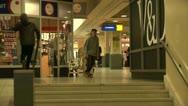 Stock Video Footage of 360 Flip stairs - Skateboarding