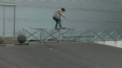 Bail - Skateboarding - stock footage