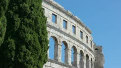 Arena Pula - stock footage