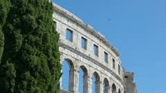 Arena Pula Stock Footage