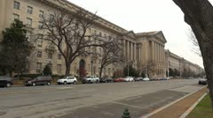 US EPA building Stock Footage
