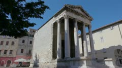Pula, Croatia - stock footage