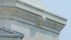 Racic Mausoleum Cavtat Stock Footage