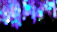 Xmas lights 019-PR2 Stock Footage