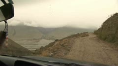 Driving in Wakhan Valley, Afghanistan Stock Footage