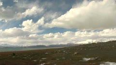 Pan, View on Karakul Lake - Tajikistan Stock Footage