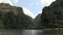 Spain - Mallorca - Torrent de Pareis/ sa calobra Stock Footage