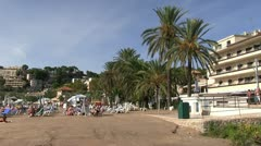 Spain - Mallorca - Port de Soller Stock Footage