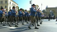 Oktoberfest Germany Munich Beer Festival parade Stock Footage