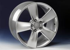 aluminium rim - stock illustration
