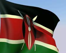 Flag of Kenya PAL Stock Footage