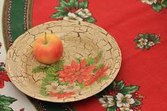 Decoration plate Stock Photos
