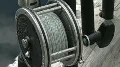 Halibut reels - stock footage