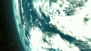 1957 Sputnik 1  first artificial earth satellite, space. Stock Footage