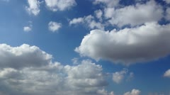 Clouds full hd Stock Footage