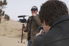 Filmmaker (2).jpg - stock photo