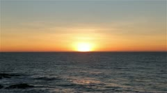 Ocean Sunset 1080p - stock footage