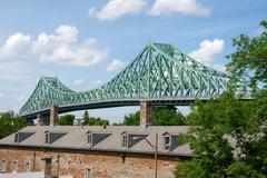 Jacques Cartier Bridge Montrealissa Kuvituskuvat