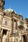 Berlin cathedral (Berliner Dom) in Berlin Stock Photos