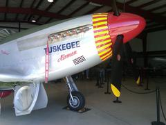 P-51 Mustang Tuskegee Airmen Stock Photos