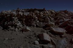 summit of mount san gorgonio, california - stock photo