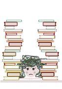 lazy child - stock illustration