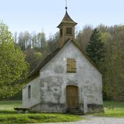 Stock Photo of idyllic small chapel