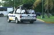 Mexican Police Stock Footage