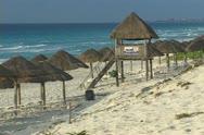 Yucatan Mexico Beach Stock Footage