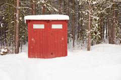 Public toilet in open air Stock Photos