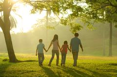 Family outdoor quality time Stock Photos