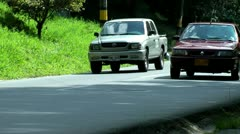 Traffic, Automobiles, Cars, Trucks, Jams - stock footage