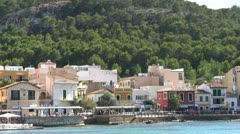 Spain - Majorca - Port d Andratx Stock Footage