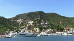 Spain - Majorca - Port d'andratx Stock Footage