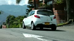 Cars on Hill, Hilly Roads, Peaks, Driving Stock Footage