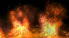 Inferno Stock Footage
