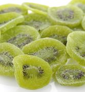 dried kiwi fruits - stock photo