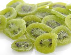 Stock Photo of dried kiwi fruits