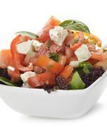 healthy salad - stock photo