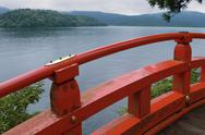 Stock Photo of lake Ashi, Japan