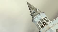 Building facade. - stock footage