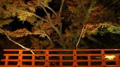 Kitano Tenman-gu Kyoto Japan Stock Footage