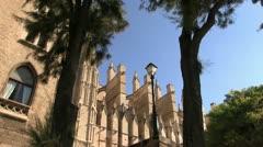 Spain - Majorca - Palma Cathedral Stock Footage