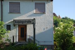 Kolpingstrasse - stock photo