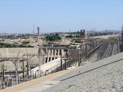 Stock Photo of generating plant in aswan