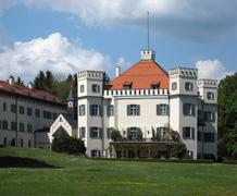 Stock Photo of pictorial schloss possenhofen
