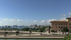 Spain - Majorca - Palma Port Stock Footage