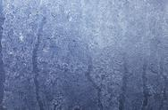 Stock Photo of An icy window pane (macro zoom)
