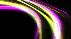 Futuristic lines, digital abstract wave, HD 1080p,  loop. Stock Footage