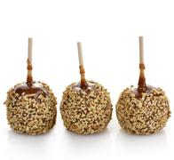 caramel apples - stock photo